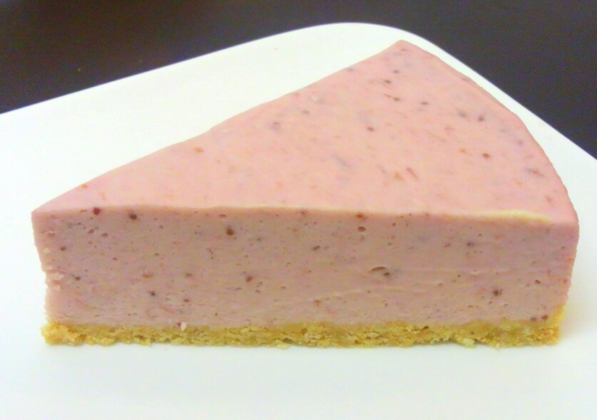 苺のレアチーズ 420円